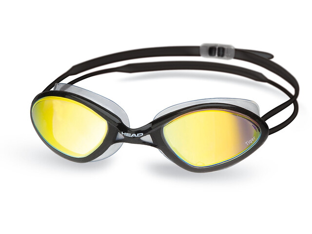 Head Tiger Race Mirrored LiquidSkin Lunettes de protection, black - smoke